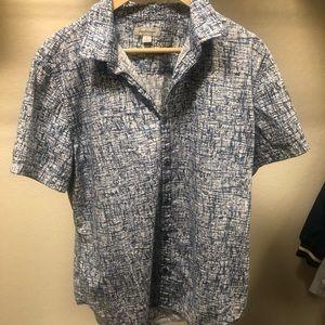 GUC Calvin Klein Jeans casual button down, Sz L